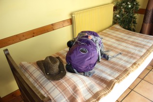 First Albergue Bed