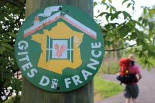 Day 1 Camino de Santiago. Just outside St. Jean Pied-de-Port