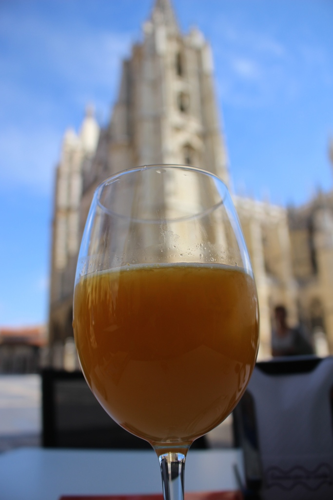 Spanish Orange Juice and the Cathedral of León