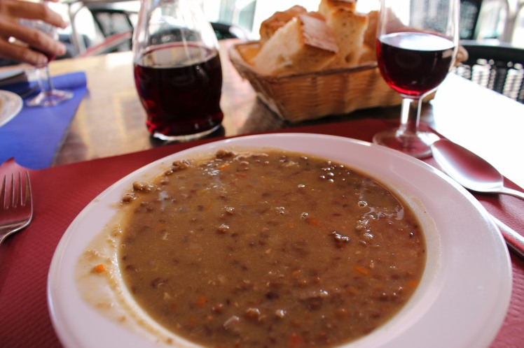 Lentil Stew in León